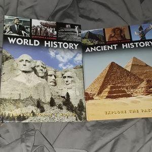 Ancient History/ World History Books